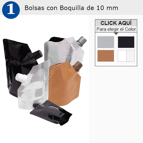 Bolsa con Boquilla de 10 mm