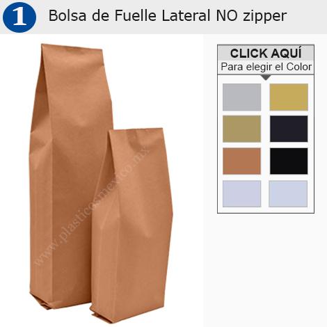 Bolsa de Fuelle Lateral NO zipper
