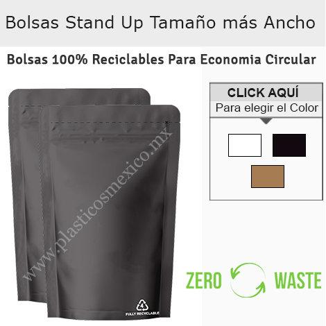 Bolsas Stand Up Reciclables Tamaño Regular