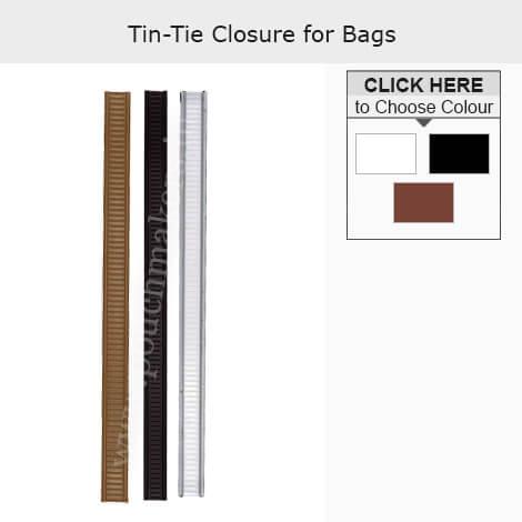 Cierre Tin Tie para Bolsas