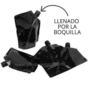 Bolsa con Boquilla de 16 mm (Boquilla Lateral / Llenado por la Boquilla)