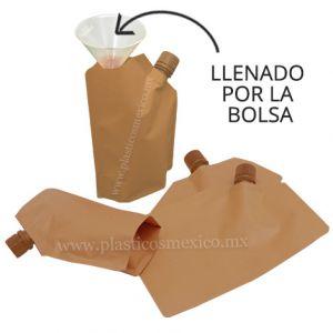 Bolsa con Boquilla de 16 mm (Boquilla Lateral / Llenado por la Bolsa)