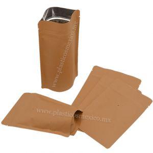 Bolsas Stand Up Metalizadas con Zipper y Válvula para Empacado de Café
