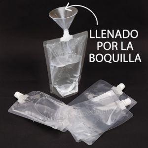 Bolsa con Boquilla de 10 mm (Boquilla Central / Llenado por la Boquilla)