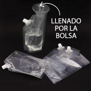 Bolsa con Boquilla de 10 mm (Boquilla Lateral / Llenado por la Bolsa)